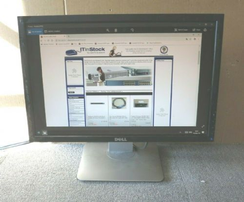"Dell UltraSharp 0J341F E1909WB 19"" LCD TFT Black Widescreen Monitor VGA DVI"